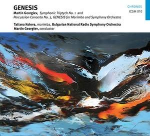 GEORGIEV/ MARTIN – GENESIS, SYMPH.TRIPTYCH 1 (CD)