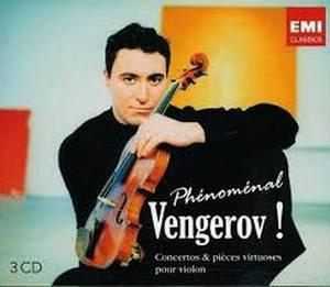 VENGEROV, MAXIM – PHENOMENAL VENGEROV (3xCD)