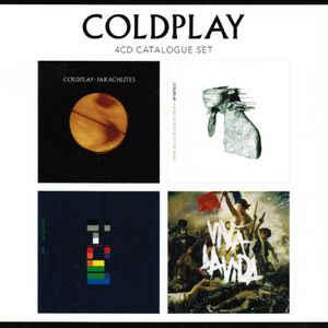 COLDPLAY – 4 CD ALBUMS SET (4xCD)