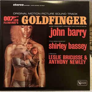VARIOUS ARTISTS – GOLDFINGER (LP)