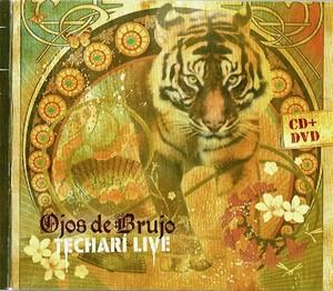 OJOS DE BRUJO – TECHALI LIVE (CD)
