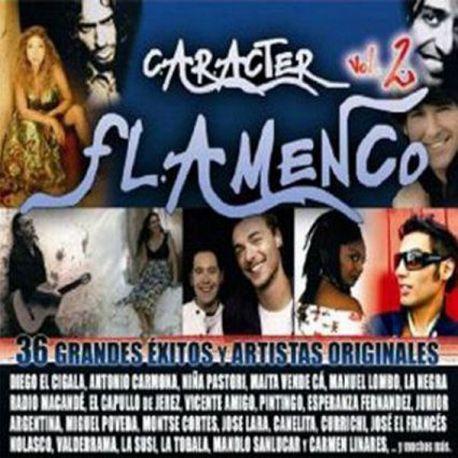 VARIOUS ARTISTS – CARACTER FLAMENCO (CD)