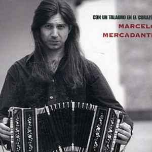 MERCADANTE, MARCELO CO UN TALADRO EN EL CORAZON CD –  (CD)