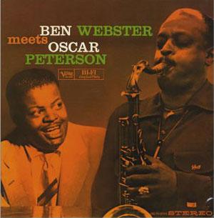 WEBSTER, BEN – MEETS OSCAR PETERSON (LP)