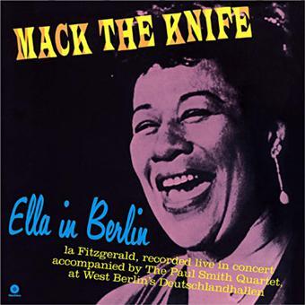FITZGERALD, ELLA – MACK THE KNIFE: ELLA IN BERLIN (LP)