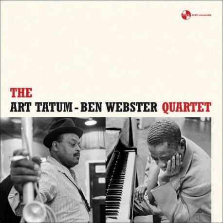 TATUM, ART & BEN WEBSTER – QUARTET (LP)