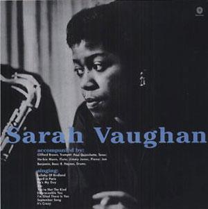 VAUGHAN, SARAH – SARA VAUGHAN WITH CLIFFORD BROWN (LP)