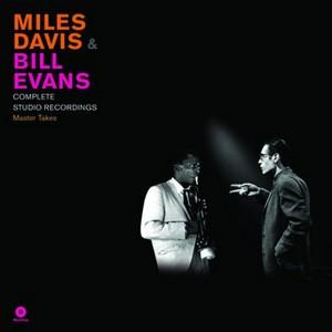 DAVIS, MILES & BILL EVANS COMPLETE STUDIO.. LP    –  (LP)