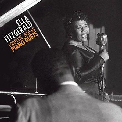 FITZGERALD, ELLA – COMPLETE 1950-60 PIANO DUETS (2xCD)