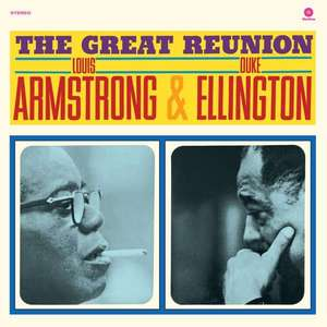 ARMSTRONG, LOUIS & DUKE E – GREAT REUNION (LP)