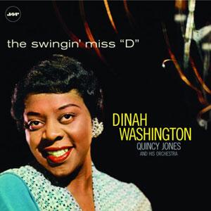 "WASHINGTON, DINAH – SWINGIN' MISS ""D"" (LP)"