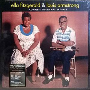 FITZGERALD / ARMSTRONG ELLA & LOUIS – COMPLETE STUDIO MASTER TAKES 6LP –  (LP)