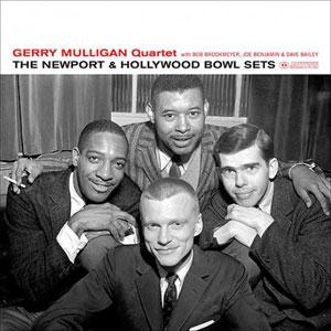 MULLIGAN, GERRY -QUARTET- – NEWPORT & HOLLYWOOD BOWL SETS (LP)
