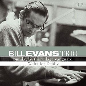 EVANS, BILL -TRIO- – SUNDAY AT THE VILLAGE VANGUARD/WALTZ FOR DEBBY (2xLP)