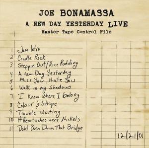 BONAMASSA, JOE – NEW DAY YESTERDAY (2xLP)