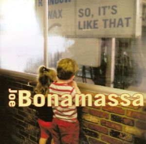 BONAMASSA, JOE – SO. IT'S LIKE THAT (LP)