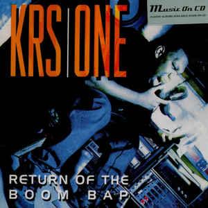 KRS ONE – RETURN OF THE BOOM BAP (CD)