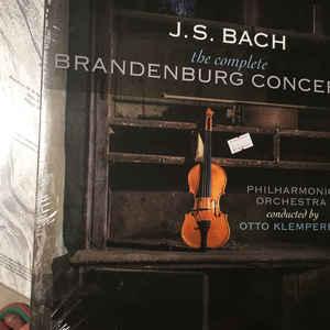 BACH, J.S. – COMPLETE BRANDENBURG CONCERTOS (2xLP)