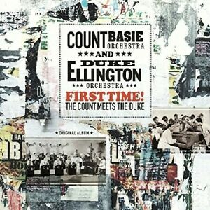 ELLINGTON AND BASIE – FIRST TIME! THE COUNT MEETS THE DUKE (LP)