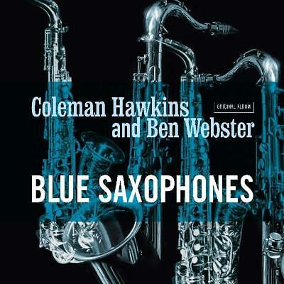 HAWKINS, COLEMAN/BEN WEBS – BLUE SAXOPHONES (LP)