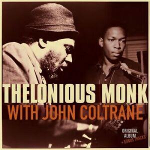 MONK, THELONIOUS – WITH JOHN COLTRANE + 2 (LP)