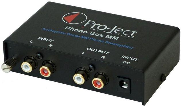Предусилвател и фоно коректор Pro-Ject Phono Box MM (MM/MC)