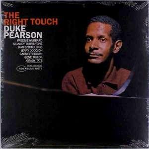 PEARSON, DUKE – RIGHT TOUCH (LP)