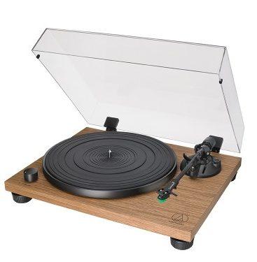 Грамофон Audio-Technica AT-LPW40 Manual Belt Drive Wood Base Turntable