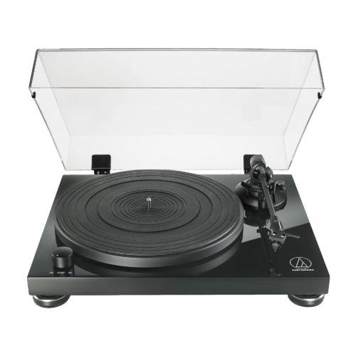 Грамофон Audio-Technica AT-LPW50 Piano Black Manual Belt Drive Wood Base Turntable