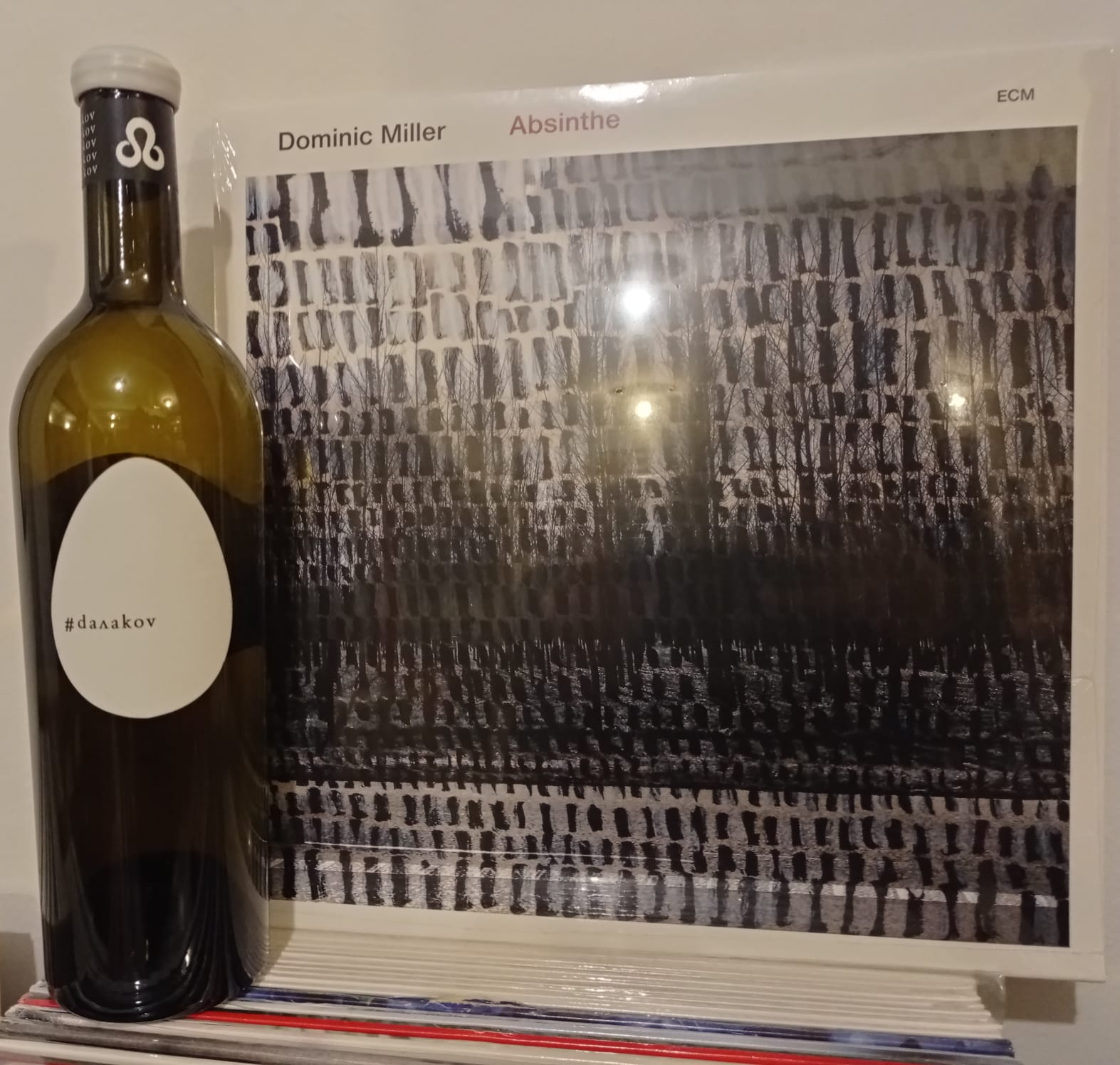 "Dominic Miller ""Absinthe"" +  Мискет бленд The EGG, 2018 – Betterhalf Garage Wines"
