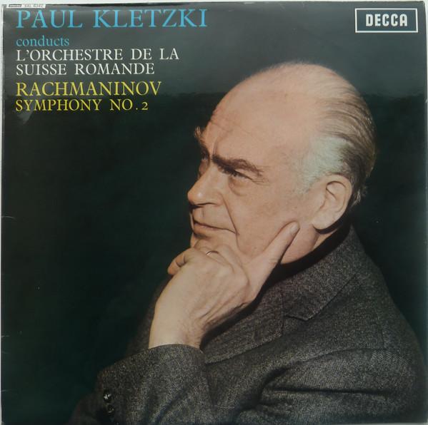 Paul Kletzki Conducts L'Orchestre De La Suisse Romande, Sergei Vasilyevich Rachmaninoff – Symphony No. 2 (LP) (Very Good Plus (VG+))