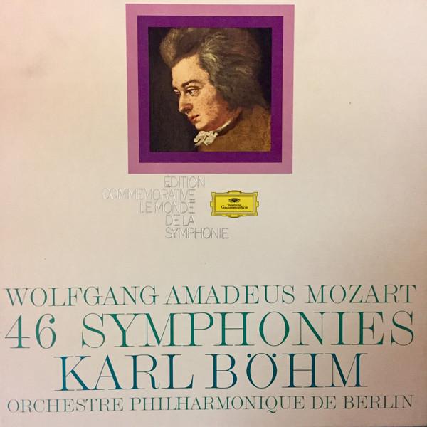 Wolfgang Amadeus Mozart – Karl Böhm, Berliner Philharmoniker – 46 Symphonies (Vinyl)