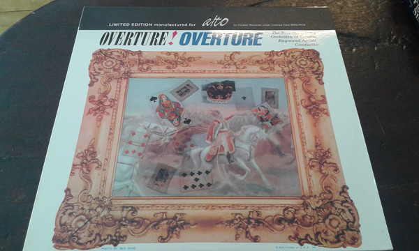 The New Symphony Orchestra Of London, Raymond Agoult – Overture! Overture (Vinyl)