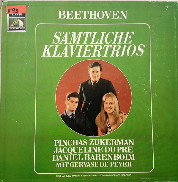 Pinchas Zukerman, Daniel Barenboim, Jacqueline Du Pré, Gervase de Peyer, Ludwig van Beethoven – Beethoven: Sämtliche Klaviertrios (Vinyl)