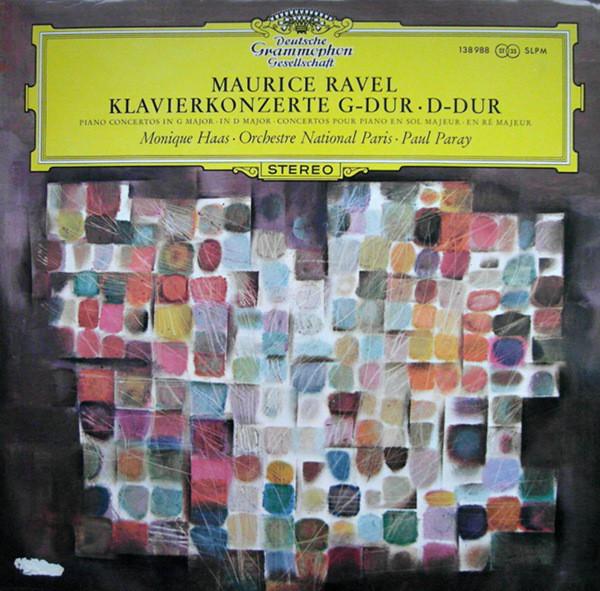 Maurice Ravel – Monique Haas · Orchestre National De France · Paul Paray – Klavierkonzerte G-dur · D-dur (LP) (Mint (M))