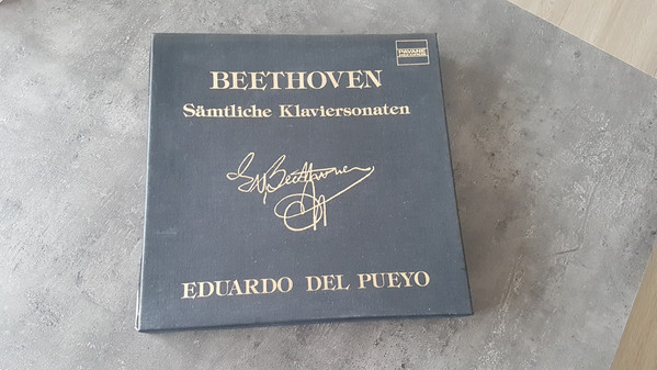 Eduardo Del Pueyo, Ludwig van Beethoven – Beethoven: Les 32 Sonates Pour Piano (14xLP + Box) (Near Mint (NM or M-))