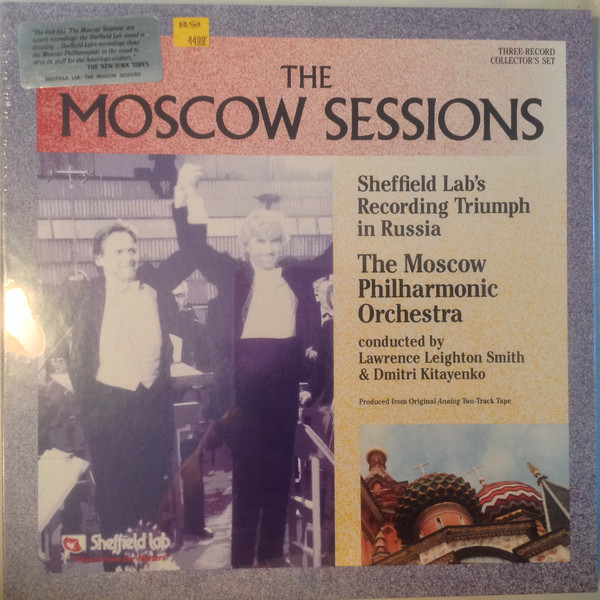 Moscow Philharmonic Orchestra Conducted By Lawrence Leighton-Smith & Dimitrij Kitaenko – The Moscow Sessions (3xLP + 3xBox, Enh, Thr) (Near Mint (NM or M-))