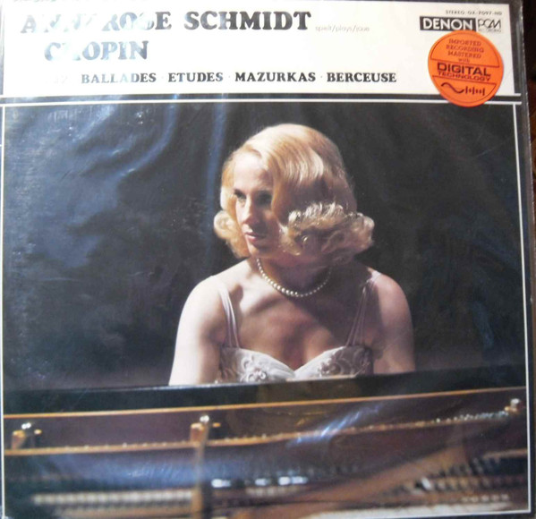Annerose Schmidt – Chopin Vol. 2 Ballades Etudes Mazurkas Berceuse (LP) (Near Mint (NM or M-))