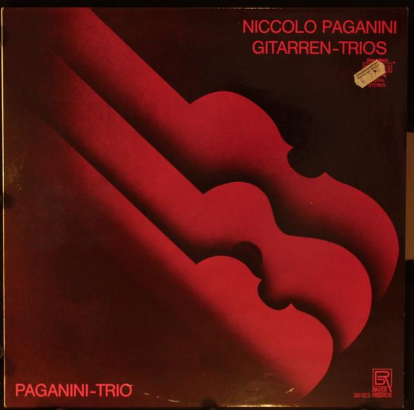 Niccolò Paganini – Paganini-Trio – Gitarren-Trios (LP) (Near Mint (NM or M-))