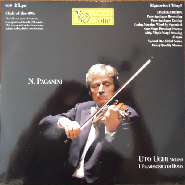 Uto Ughi – N.Paganini Concerto In Re Min. N.4 Per Violino E Orchestra (Vinyl)