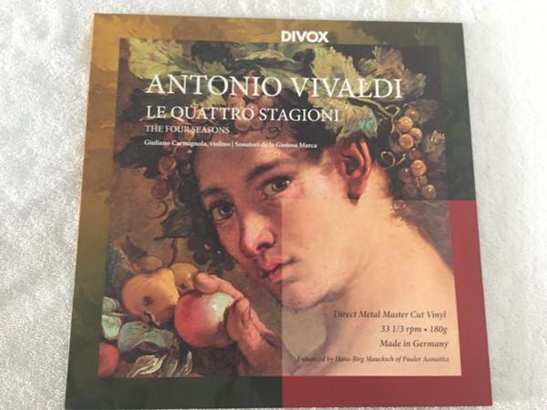 Antonio Vivaldi, Giuliano Carmignola | Sonatori De La Gioiosa Marca – Le Quattro Stagioni (The Four Seasons) (LP, RE, RM, 180) (Near Mint (NM or M-))