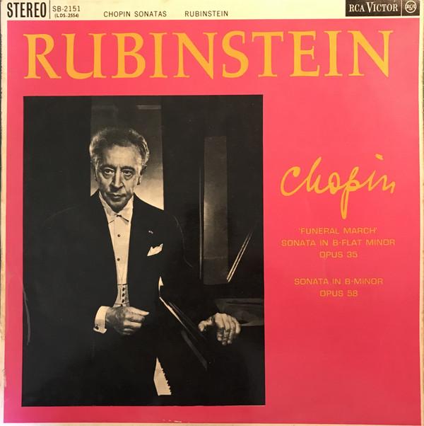 Arthur Rubinstein, Frédéric Chopin – Chopin Sonatas (LP, Album) (Very Good Plus (VG+))