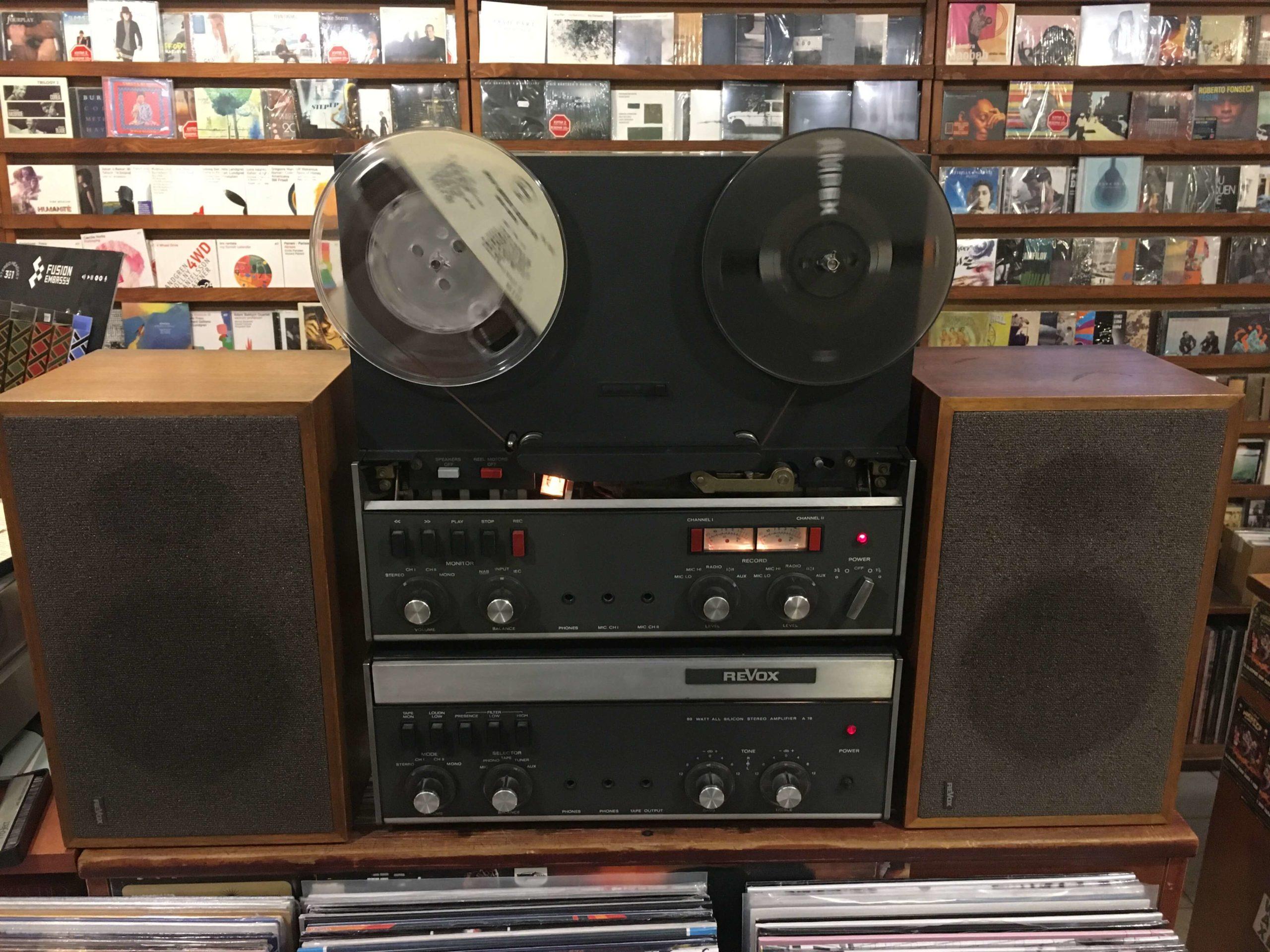 Revox A77 MKIII + Revox A78 + Speakers