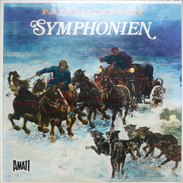 Pyotr Ilyich Tchaikovsky – Symphonien (Vinyl)