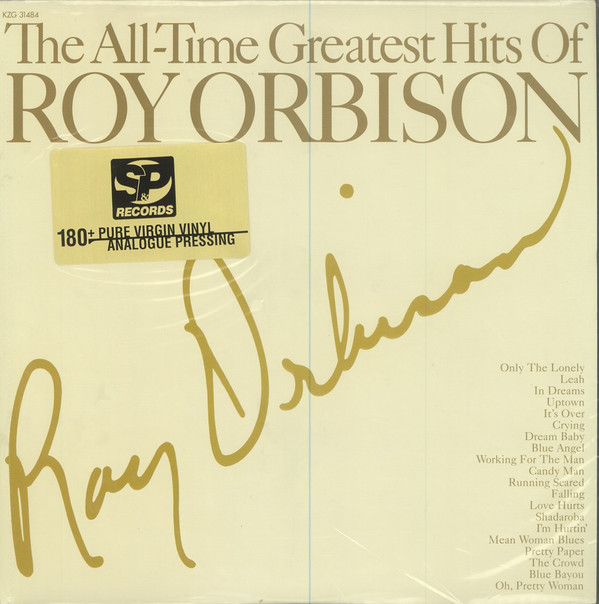 Roy Orbison – The All-Time Greatest Hits Of (2xLP, Comp, RM) (Near Mint (NM or M-))