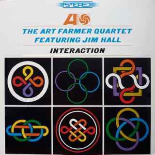 Art Farmer Quartet Featuring Jim Hall – Interaction (LP, Album) (Very Good Plus (VG+))