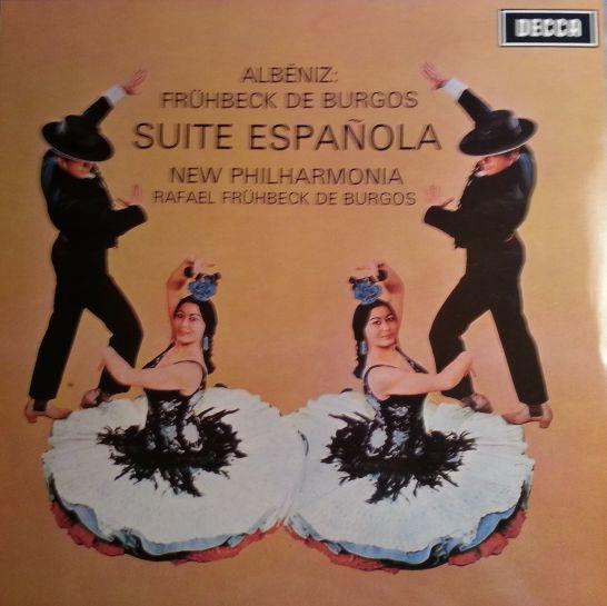 Isaac Albéniz – Rafael Frühbeck De Burgos – Suite Española (LP, RE, 180) (Near Mint (NM or M-))