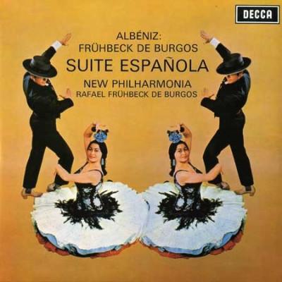 Isaac Albéniz / New Philharmonia Orchestra / Rafael Frühbeck De Burgos – Suite Española (LP, Album, RP, 180) (Mint (M))