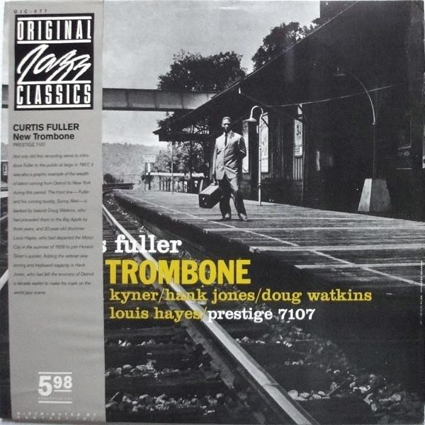 Curtis Fuller – New Trombone (LP, Album, RE) (Very Good Plus (VG+))