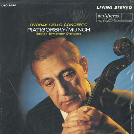 Antonín Dvořák, Gregor Piatigorsky / Charles Munch and Boston Symphony Orchestra – Cello Concerto (LP, RM, 200) (Mint (M))